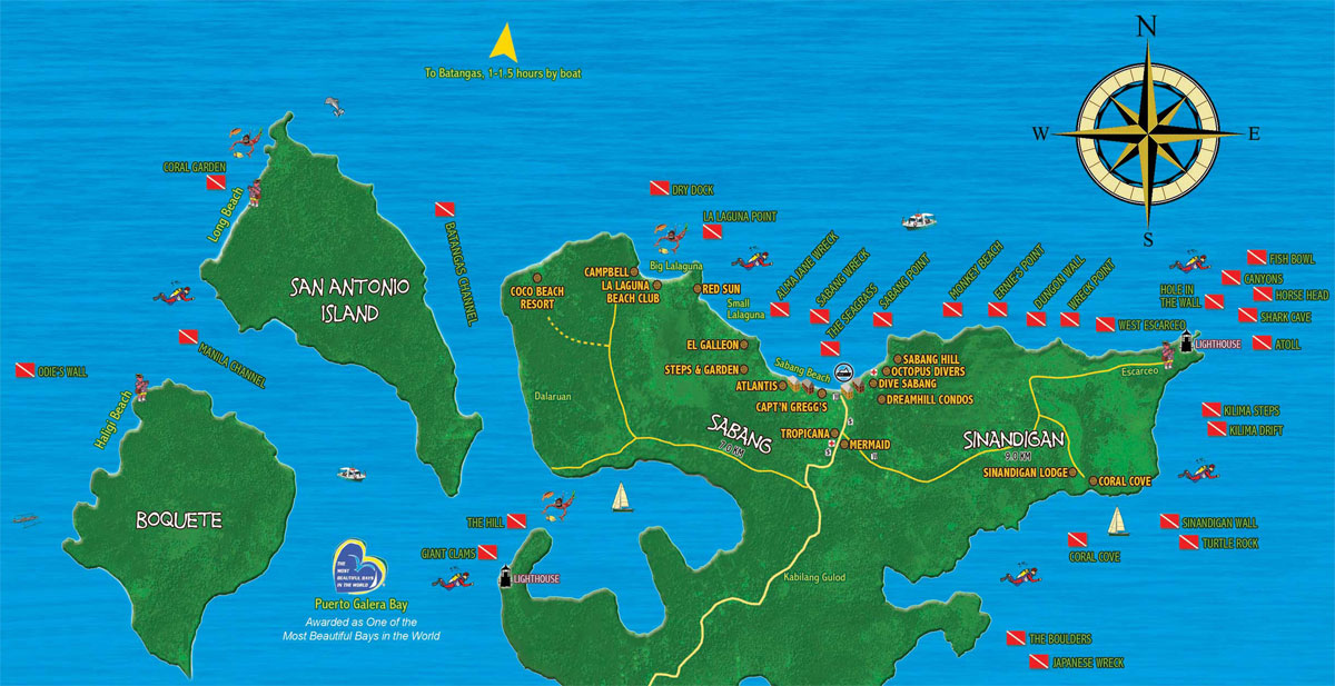 Dive Sabang Gt Dive Sites